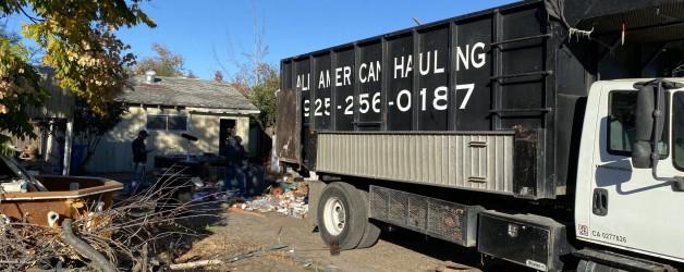 Trash out Wslnut Creek Ca