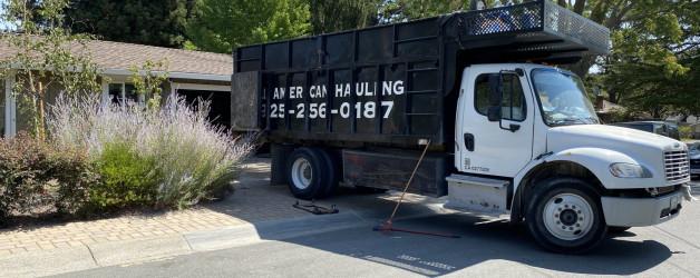 all american hauling junk truck